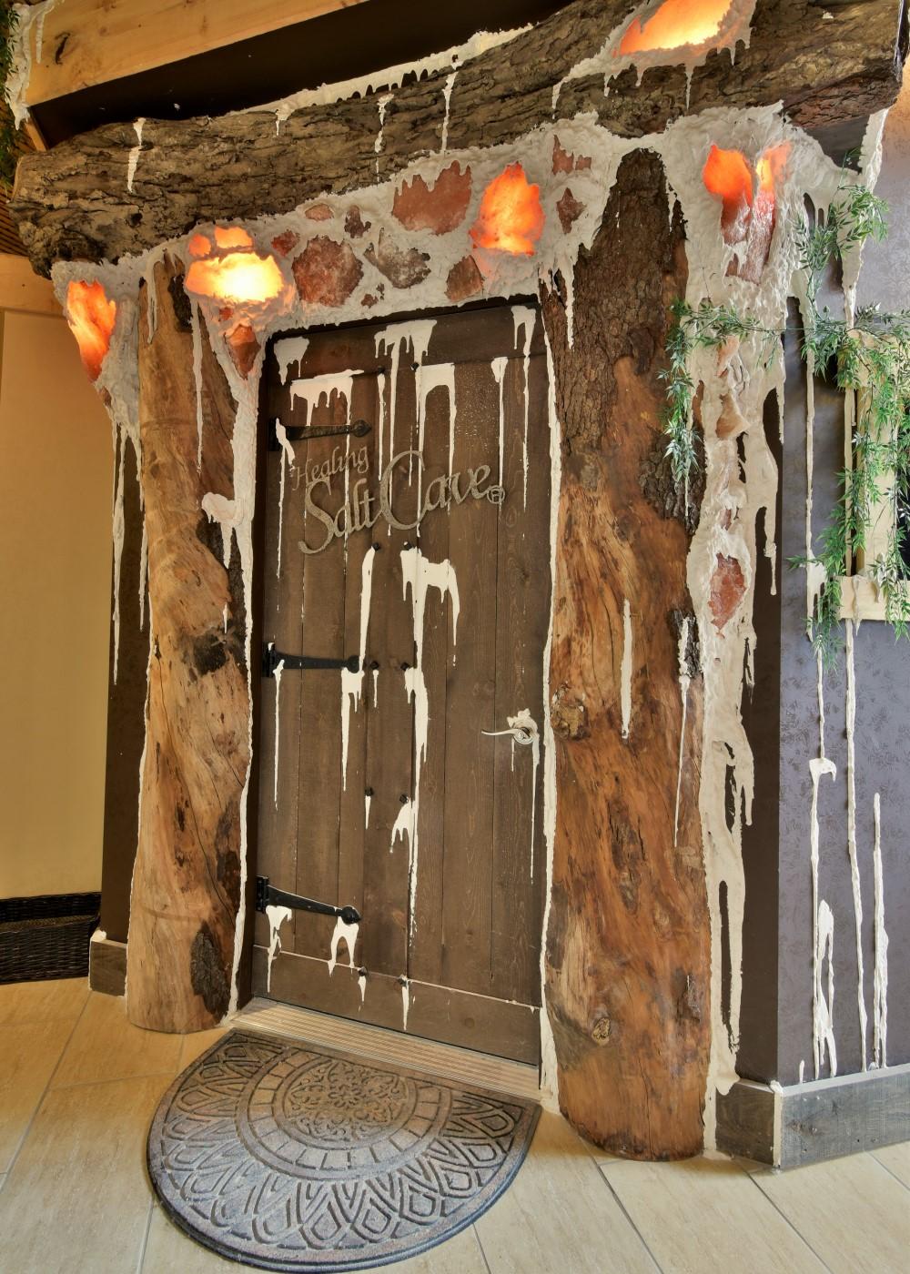 Niagara Falls Salt Cave Door